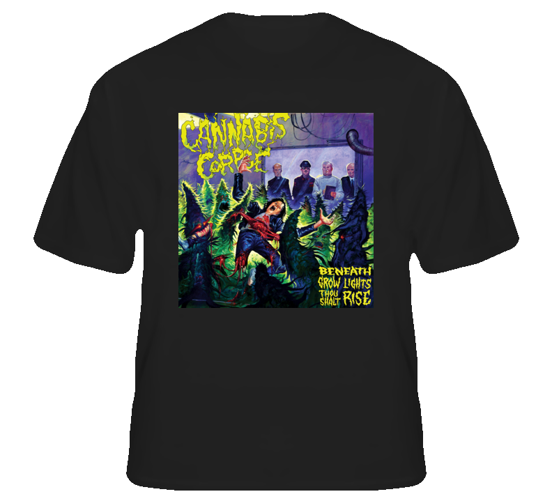 Cannabis Corpse5 - Black T Shirt