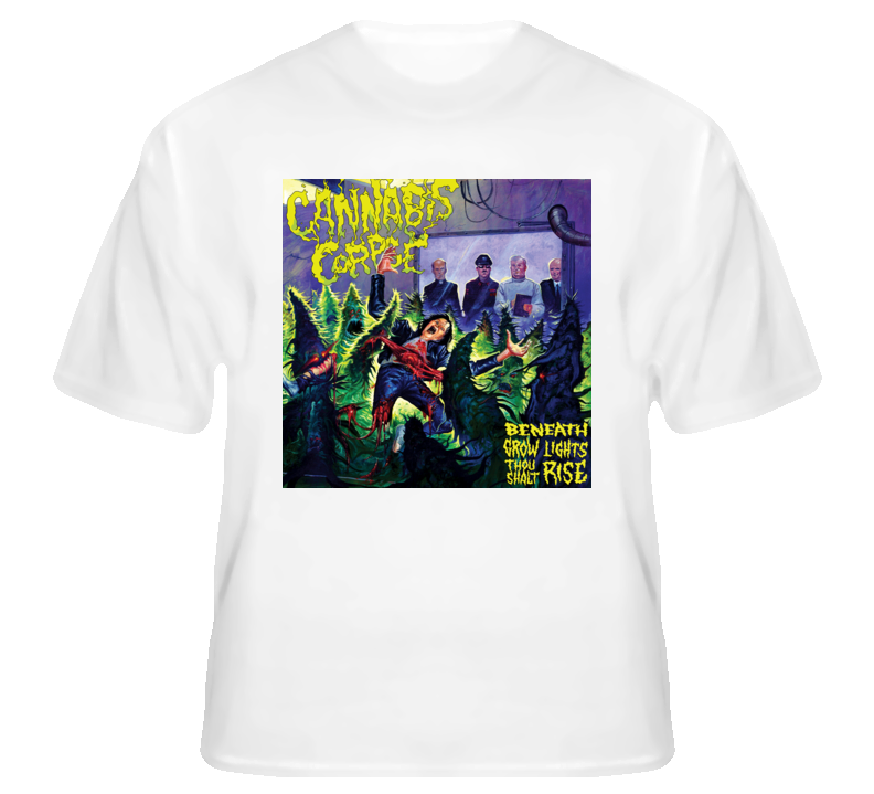 Cannabis Corpse5 - White T Shirt