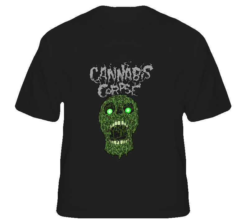Cannabis Corpse6 - Black T Shirt