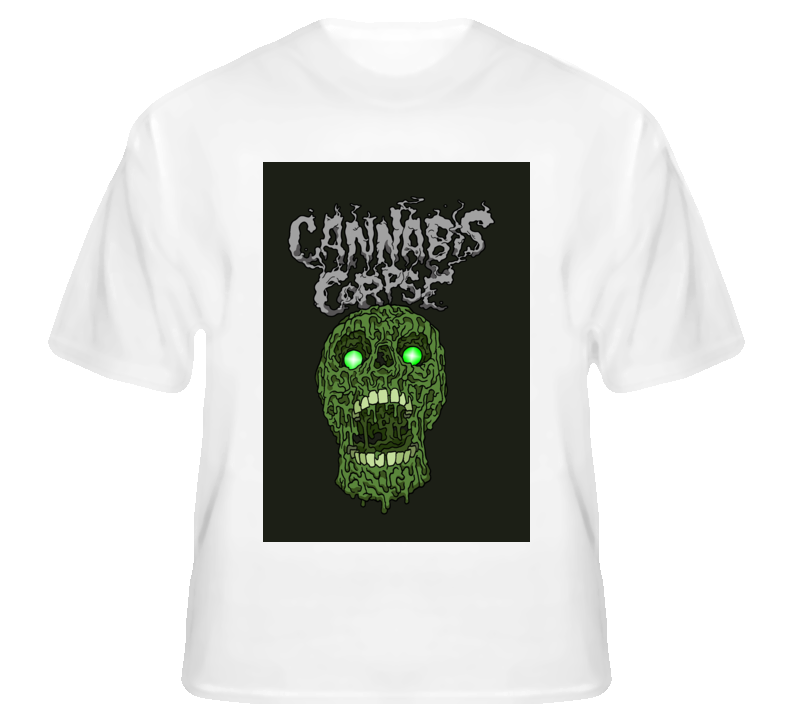 Cannabis Corpse6 - White T Shirt