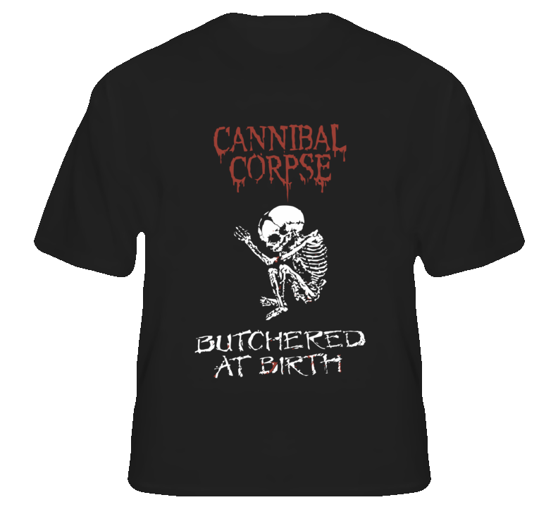Cannibal Corpse4 - Black T Shirt